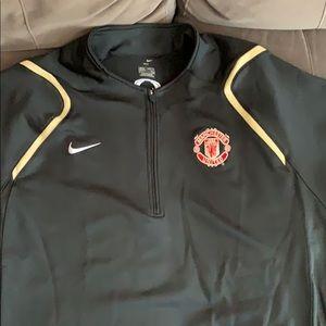 Nike Manchester United Dri Fit half zip